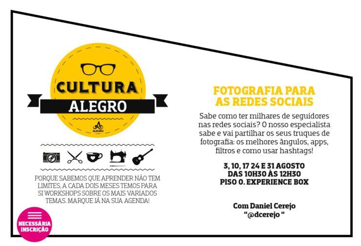 Cartaz_Workshop Fotografia Para Redes Sociais